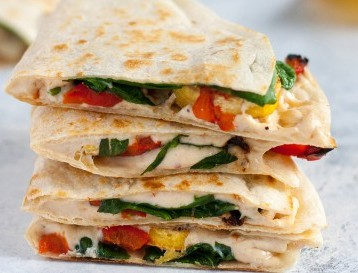 Plantain-Roasted-Red-Pepper-Quesadillas-by-Katie-Koteen-410x273